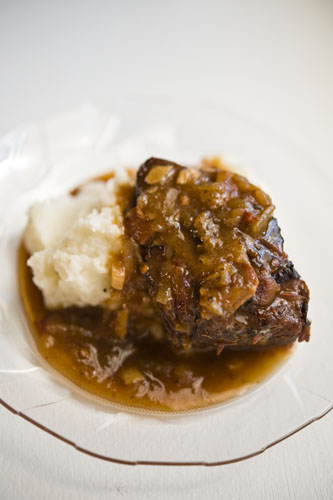 The Dinner Club: Iron Chef Coffee: Coffee-Braised Short Ribs