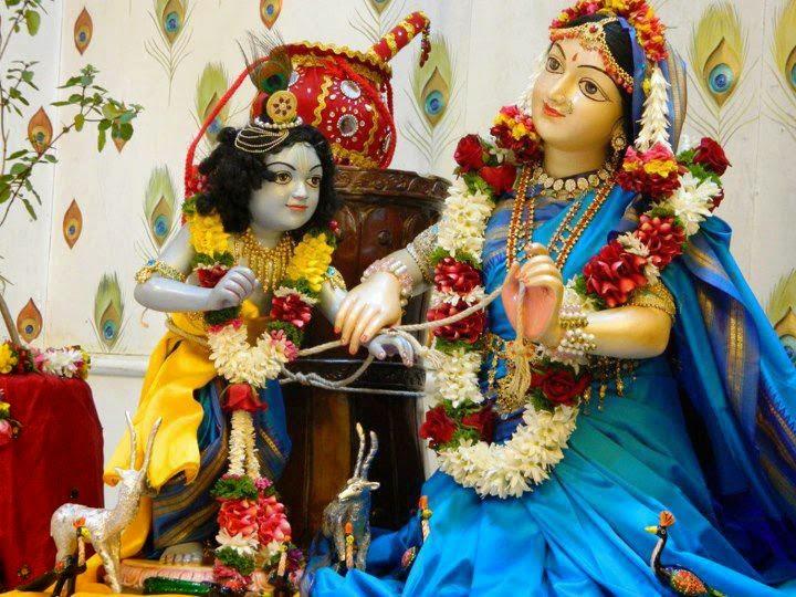 Lord Sri Krishna Iskcon Temple Devotional Images Gallery