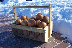 Whizbang Garden Tote With Storage Onions