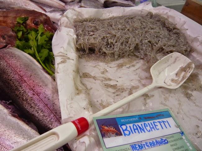 Bianchetti im Fischladen