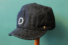 DECHO- Ball Cap Denim
