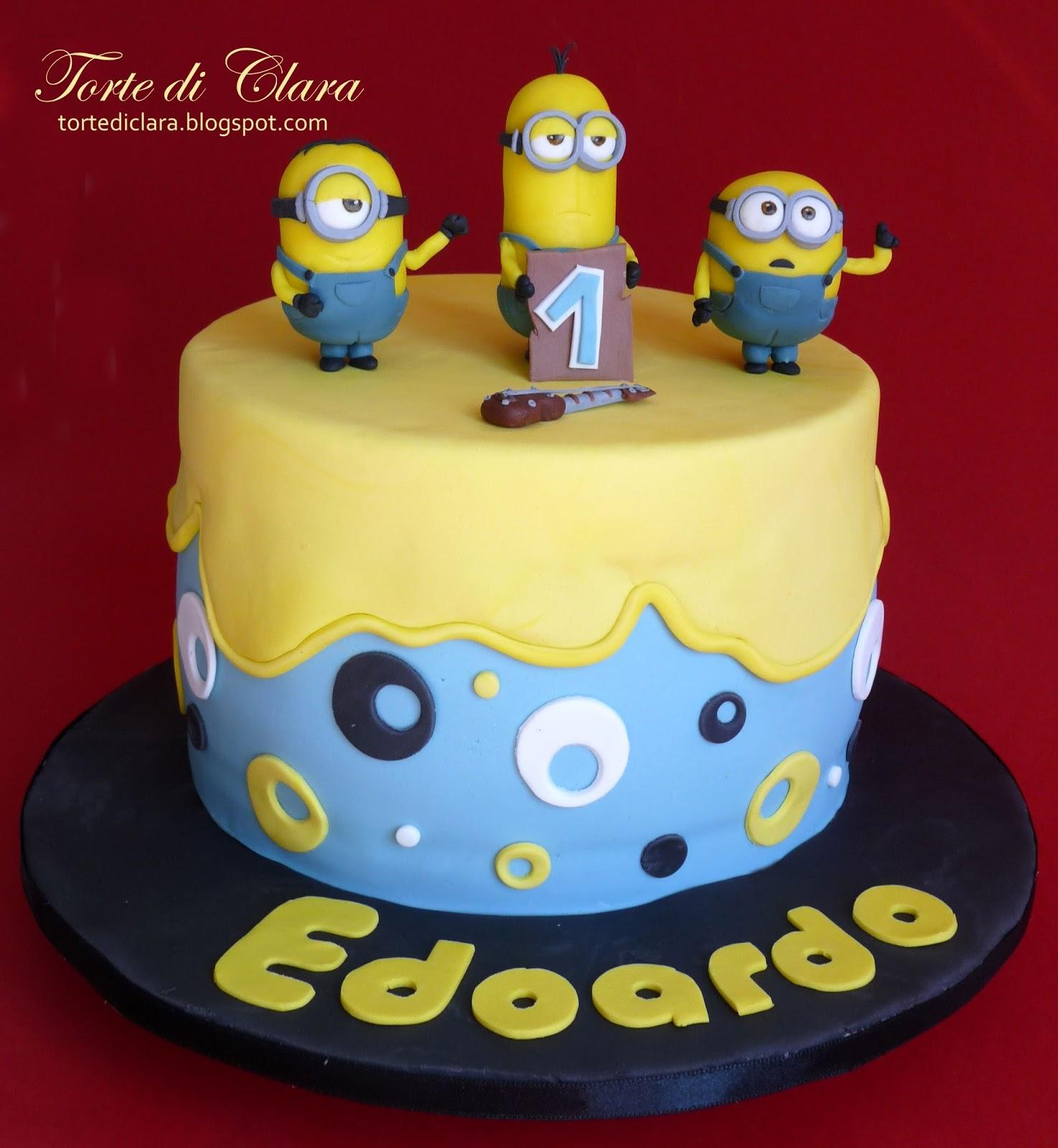 Fabuleux Torte di Clara: Minions Cake HS99