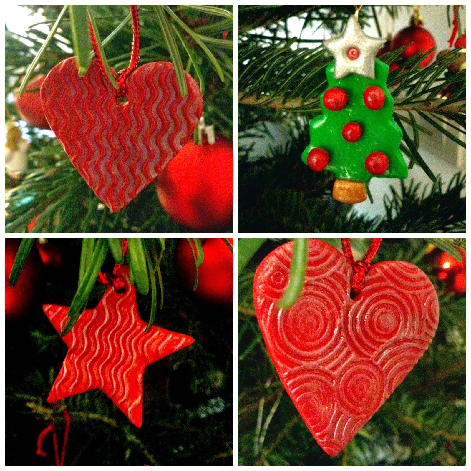 mayninetes crafty life Decorar la Navidad con fimo