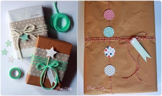 DIY ideas envolver regalos Navidad