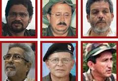 Voceros de las FARC-EP en la mesa de diálogos