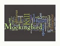 To Kill a Mockingbird word cloud