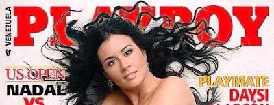 Diosa Canales posará para Revista Playboy Venezuela de agosto de 2011.