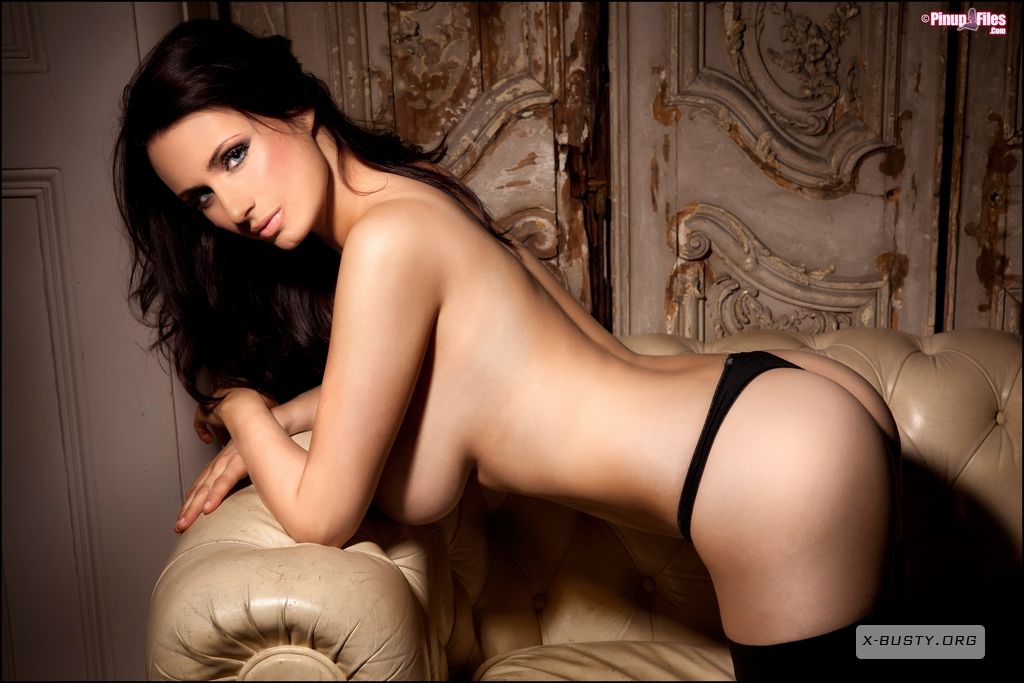 Sammy Braddy Busty In Black Stockings