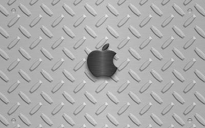 Colorful Apple Machine Silver Wallpaper background desktop