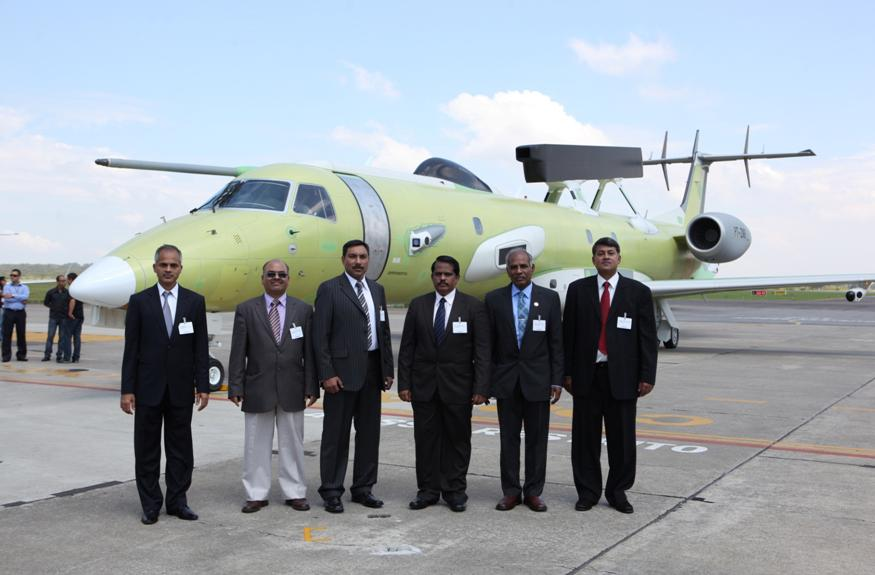 Voo inaugural do segundo Embraer EMB 145-I Airborne Early Warning and Control System (AEW&C)
