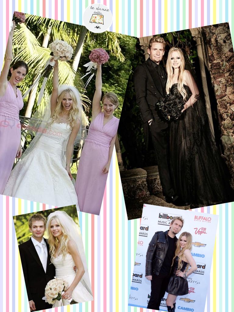 Avril Lavigne Matrimonio In Nero : Avril lavigne si sposa per la seconda volta lanostratv