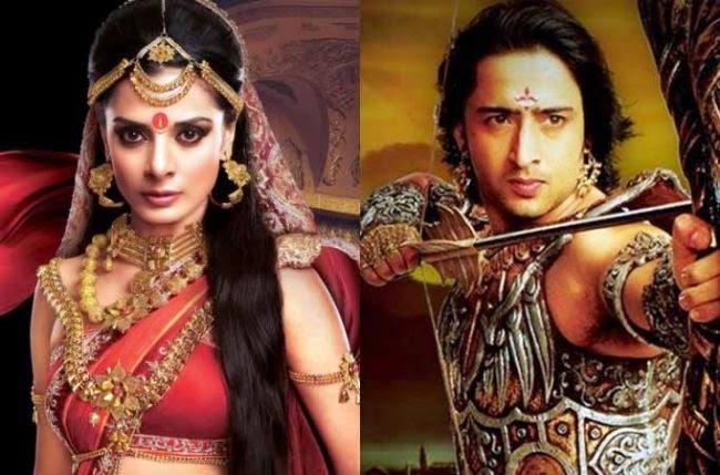 Arjuna dan Drupadi terlibat Cinta Lokasi
