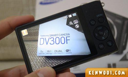 samsung dv300f screen