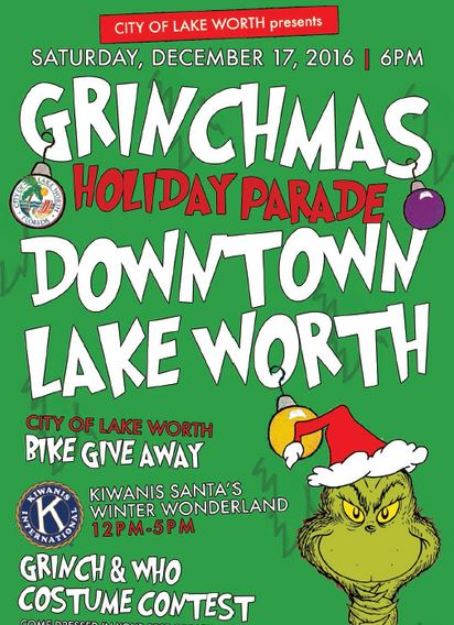 "Click on ""The Grinch"" for upcoming events in our little City."