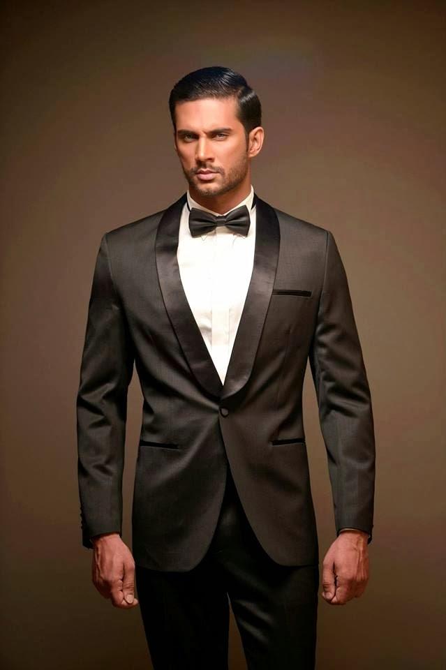 wear suits: