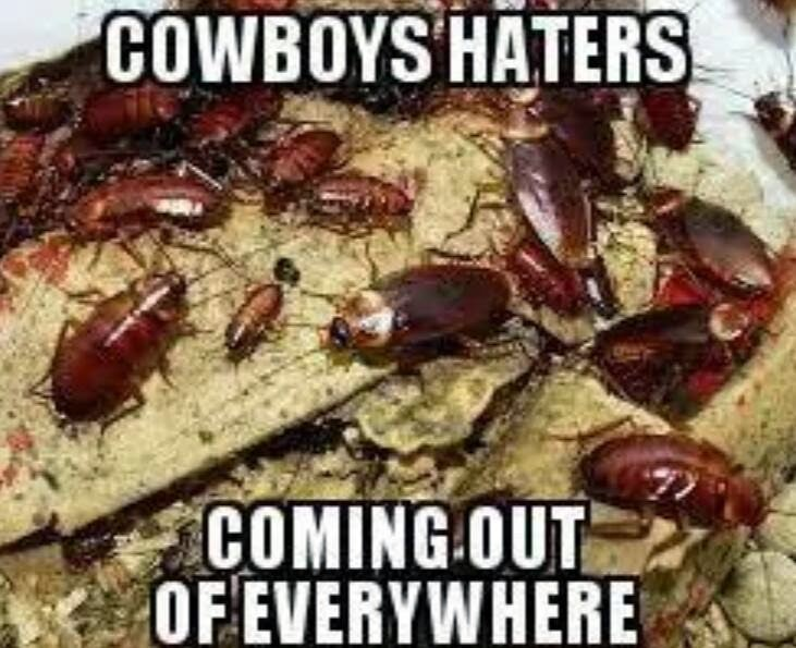 Cowboys Haters coming out of everywhere