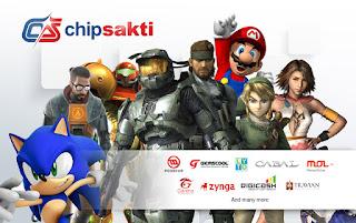 Jual Voucher Game Online Termurah di Chip Sakti