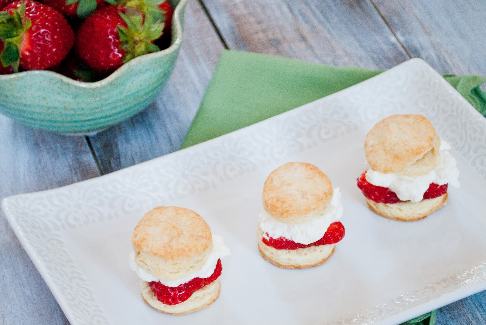 Ryan Bakes: Strawberry Shortcake Sliders for a Virtual Baby Shower
