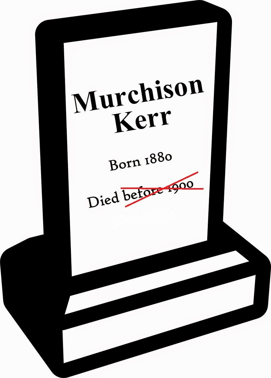Murchison Kerr Is Back From The Dead --How Did I Get Here? My Amazing Genealogy Journey