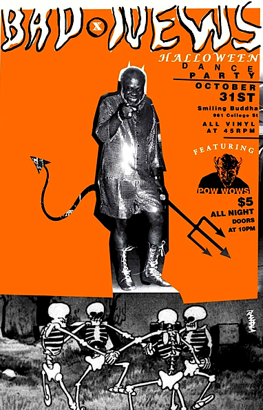 Bad News Halloween Party @ Smiling Buddha, Friday