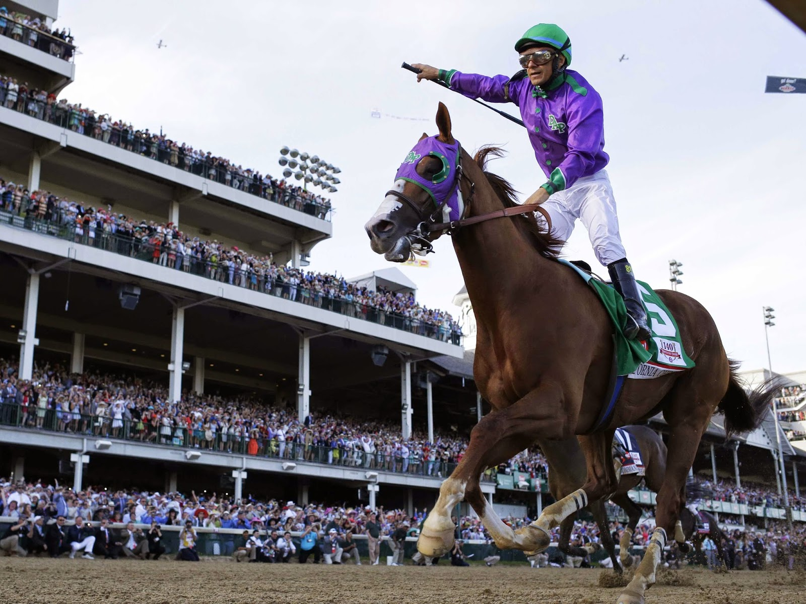California Chrome belmont