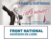 Adhérez au Front National