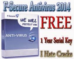 F-Secure Anti-Virus Free Download With Serial Keys