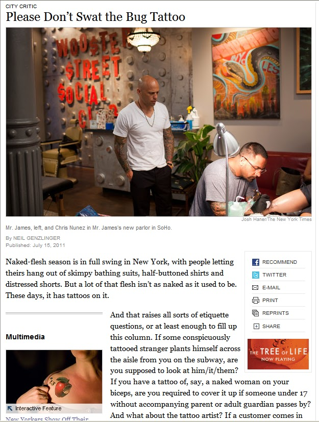 StellaBella: Featured in the New York Times - Me!