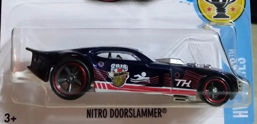 hot wheels nitro doorslammer super treasure hunts
