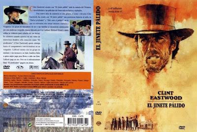 El jinete pálido |1985 | Pale Rider  | Cover, caratula, dvd