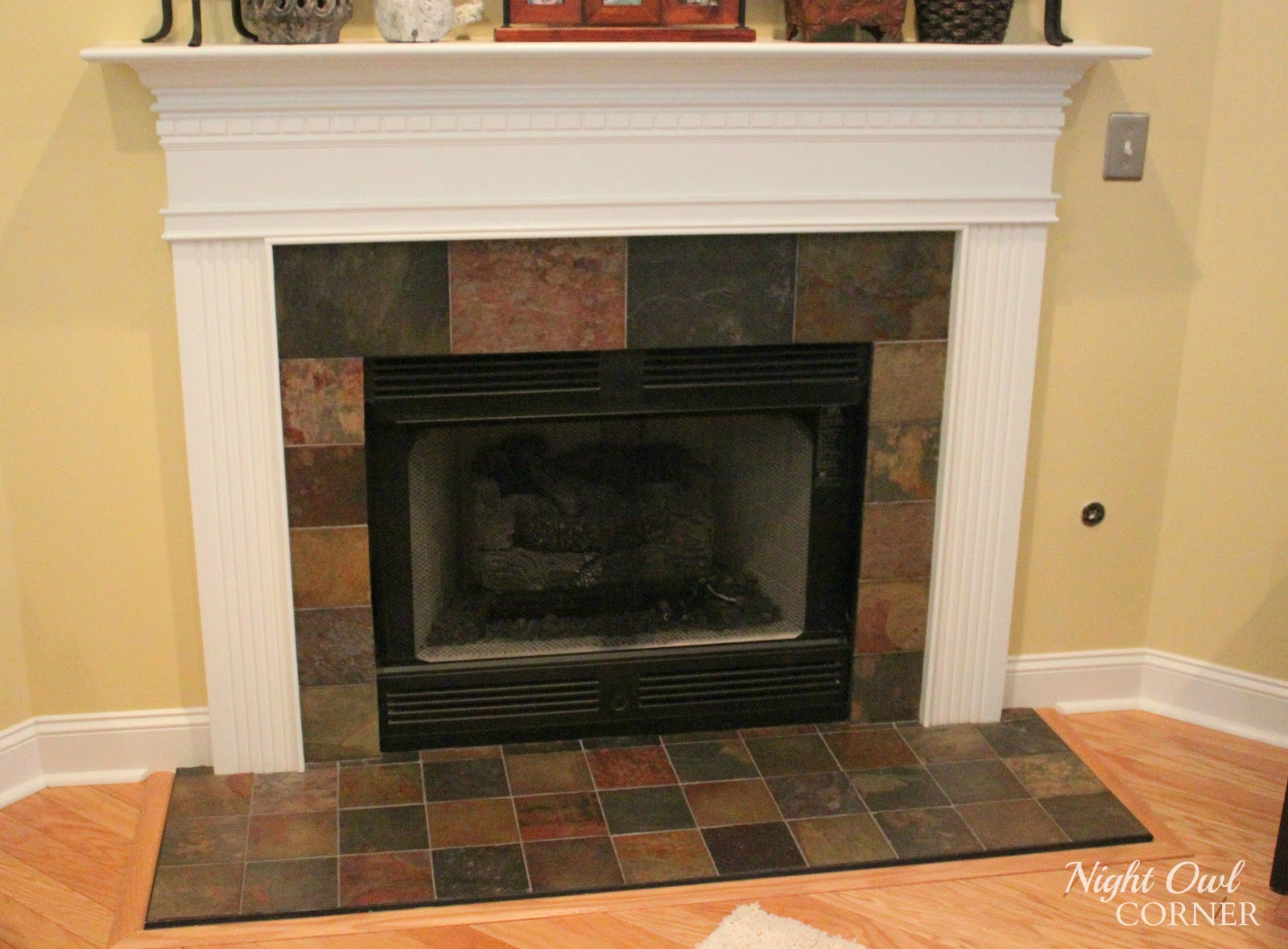 Fireplace Hearth Ideas With Tiles Or Slate Home Design Ideas ...