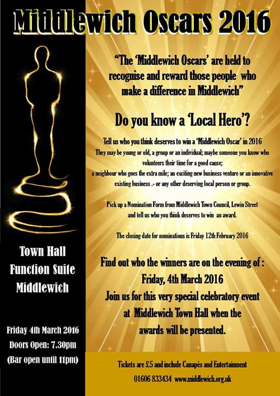 THE MIDDLEWICH OSCARS 2016