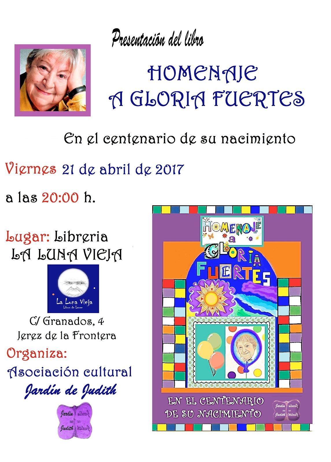 Homenaje a la gran poeta Gloria Fuertes