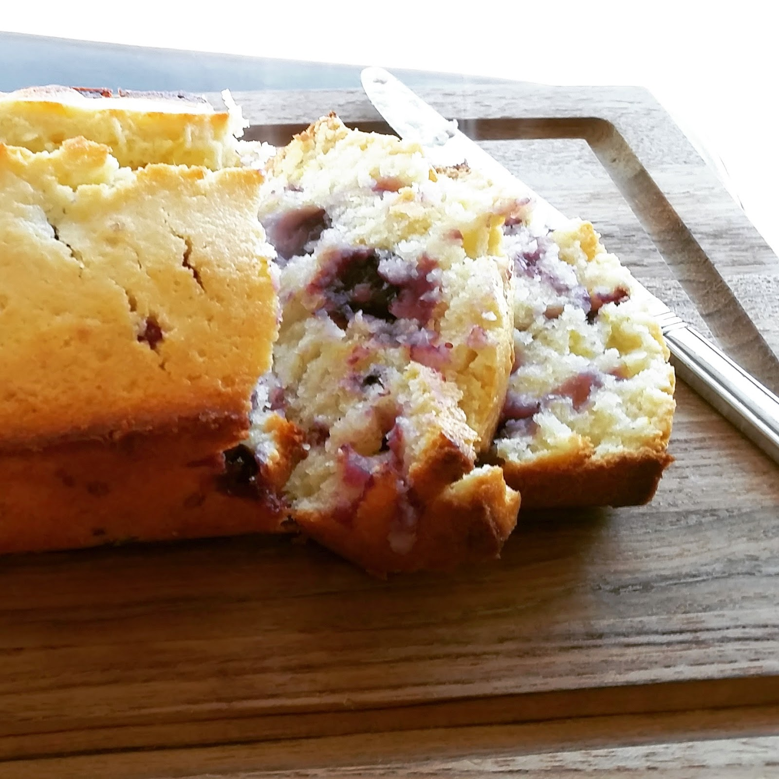 Meyer Lemon Blueberry Bread