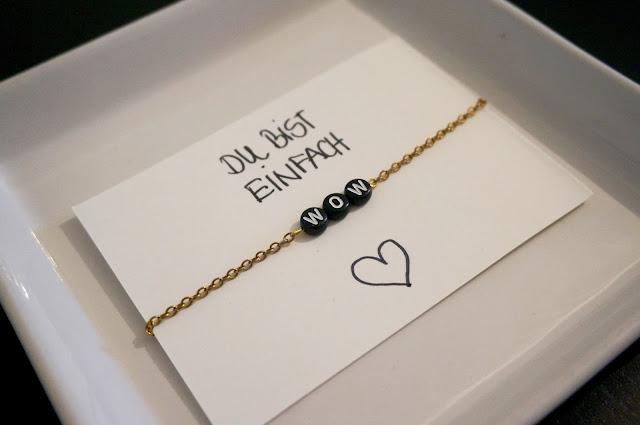 DIY Armband für die beste Freundin