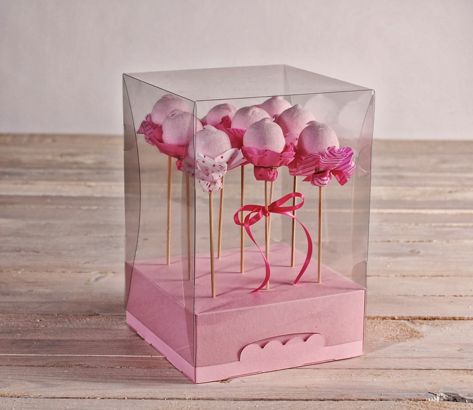 Cake Pop Boxes Bulk