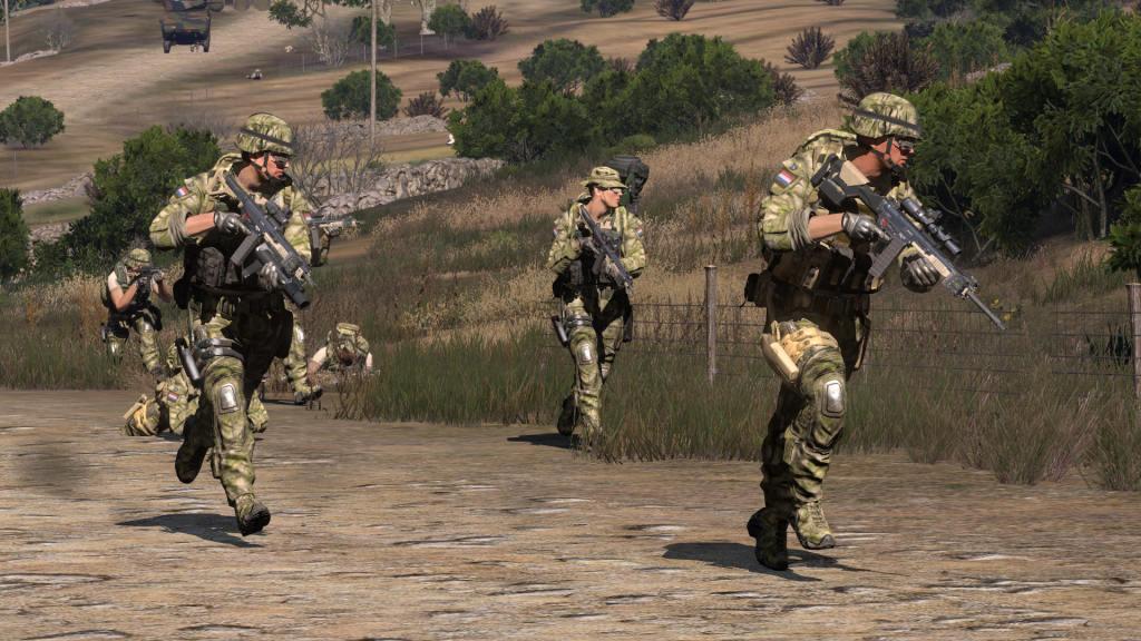 弱者の日記^^  Arma 3 用オランダ軍特殊部隊アドオンが v1.5 に更新