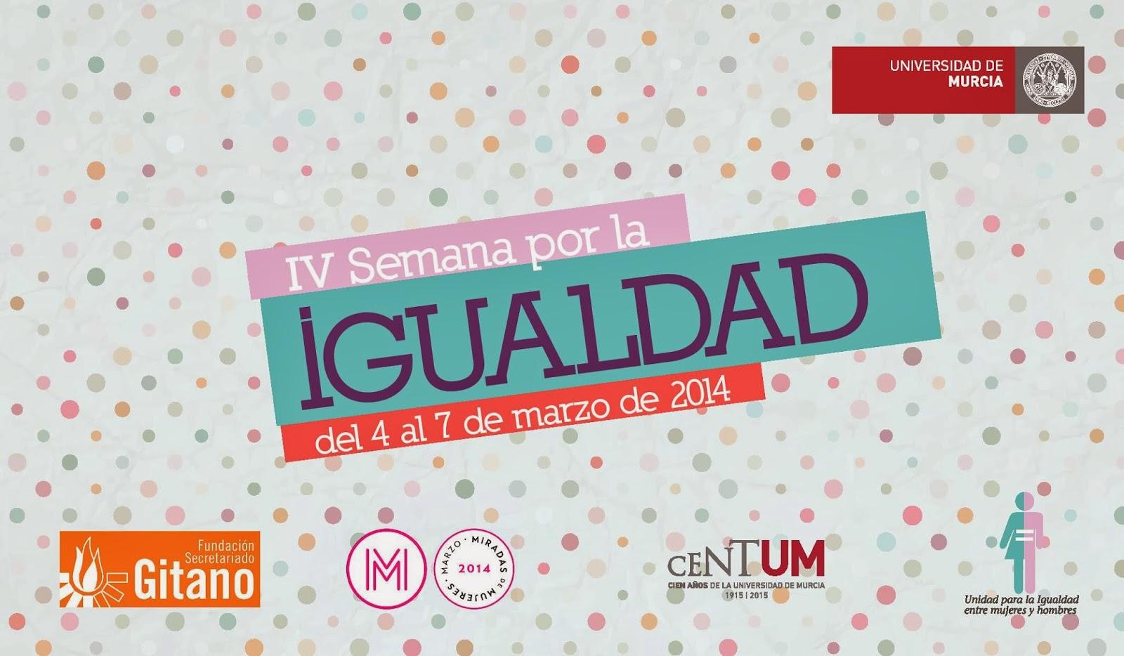 IV Semana por la igualdad - UMU.