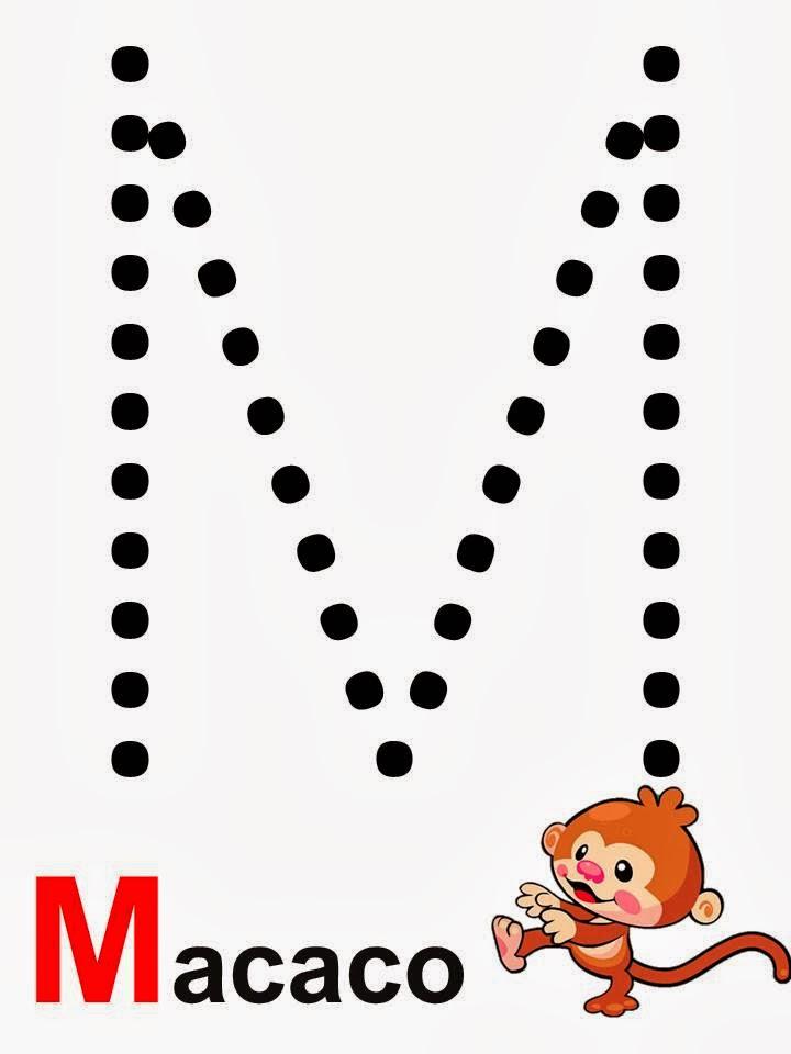 alfabeto macaco