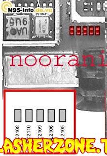 Nokia n95 vibrator  jumper diagram hardware solution
