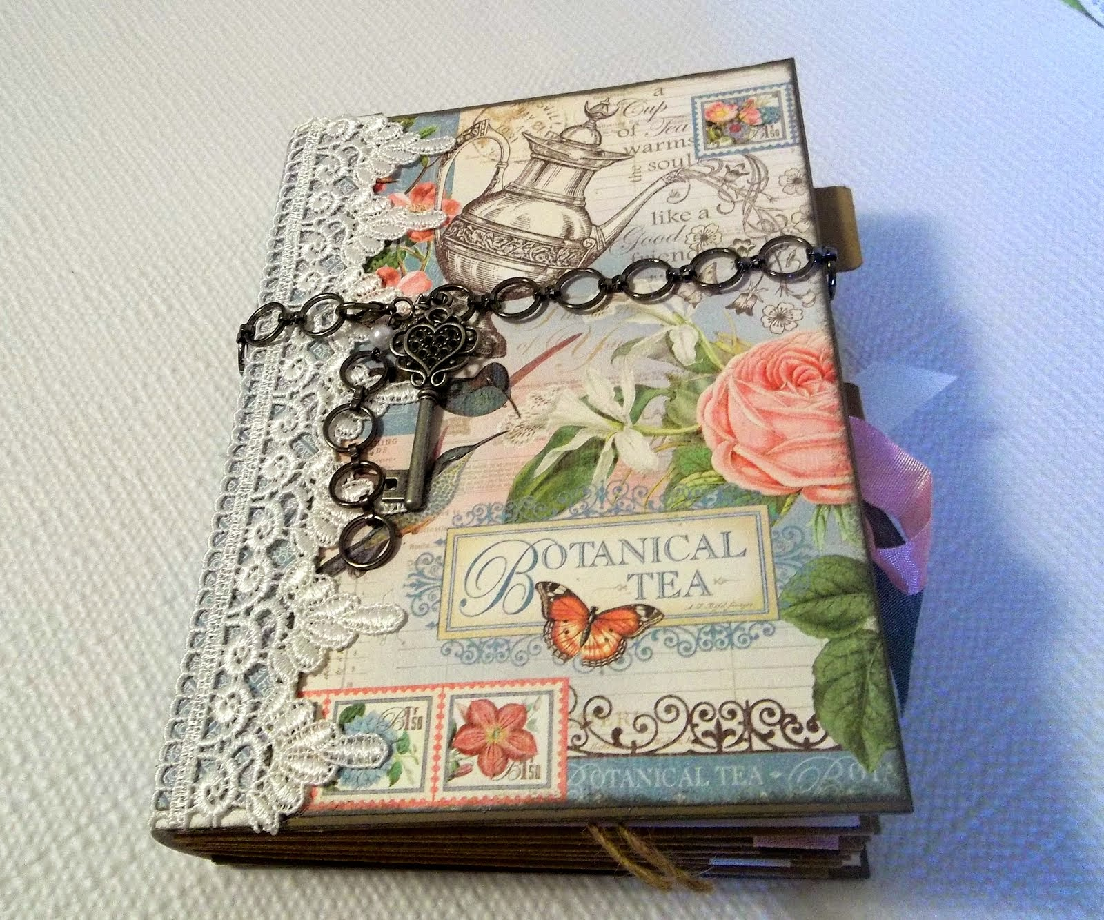 FOR SALE: Botanical Tea Mini Album