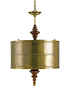 Vintage Brass Dining Pendant