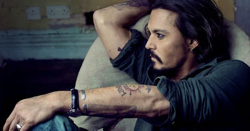 Each of my tattoos stand for something : Johnny Depp