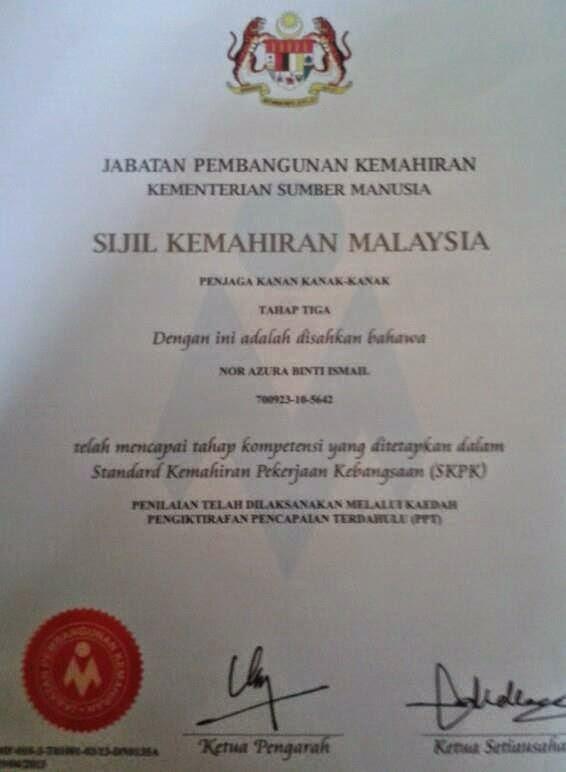 Panduan Asuhan Dan Didikan Kanak Kanak Sijil Kemahiran Malaysia Asuhan Dan Didikan Awal Kanak Kanak