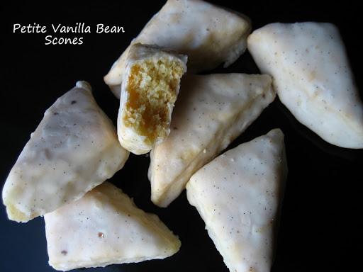 ... Cooking In Montana: Iced Petite Vanilla Bean Scones... Starbucks Style