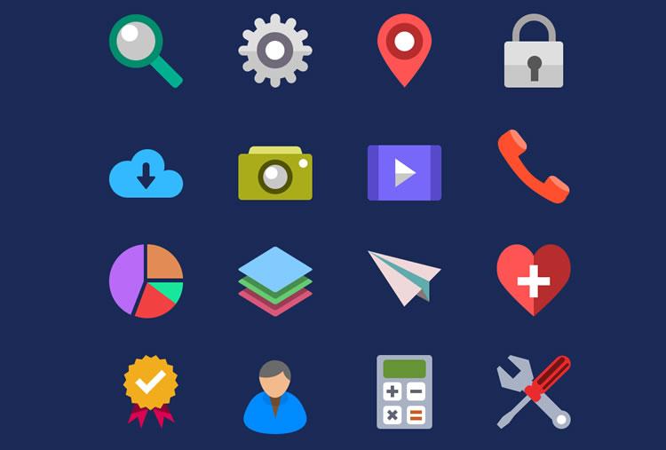 20 Free Flat Icon Sets