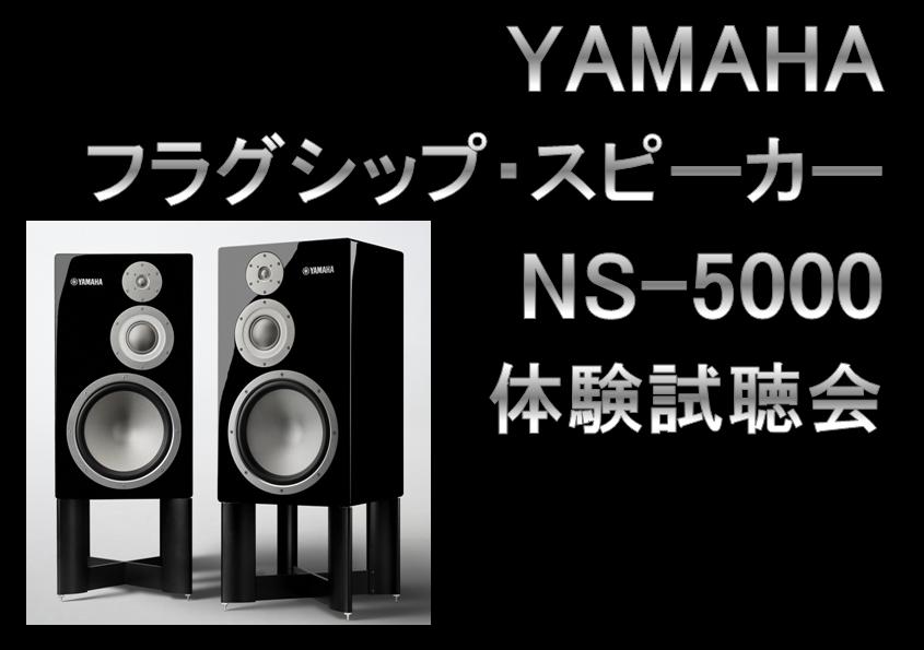 YAMAHA フラグシップ・スピーカー『NS-5000』体験試聴会