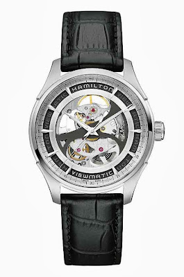 HAMILTON JAZZMASTER VIEWMATIC SKELETON