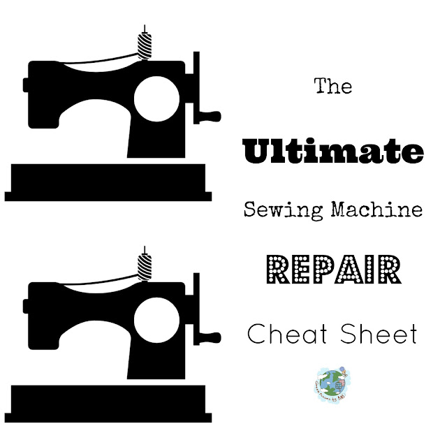 The Ultimate Sewing Machine Repair Cheat Sheet AGY TEXTILE ARTIST Inspiration Ultimate Sewing Machine