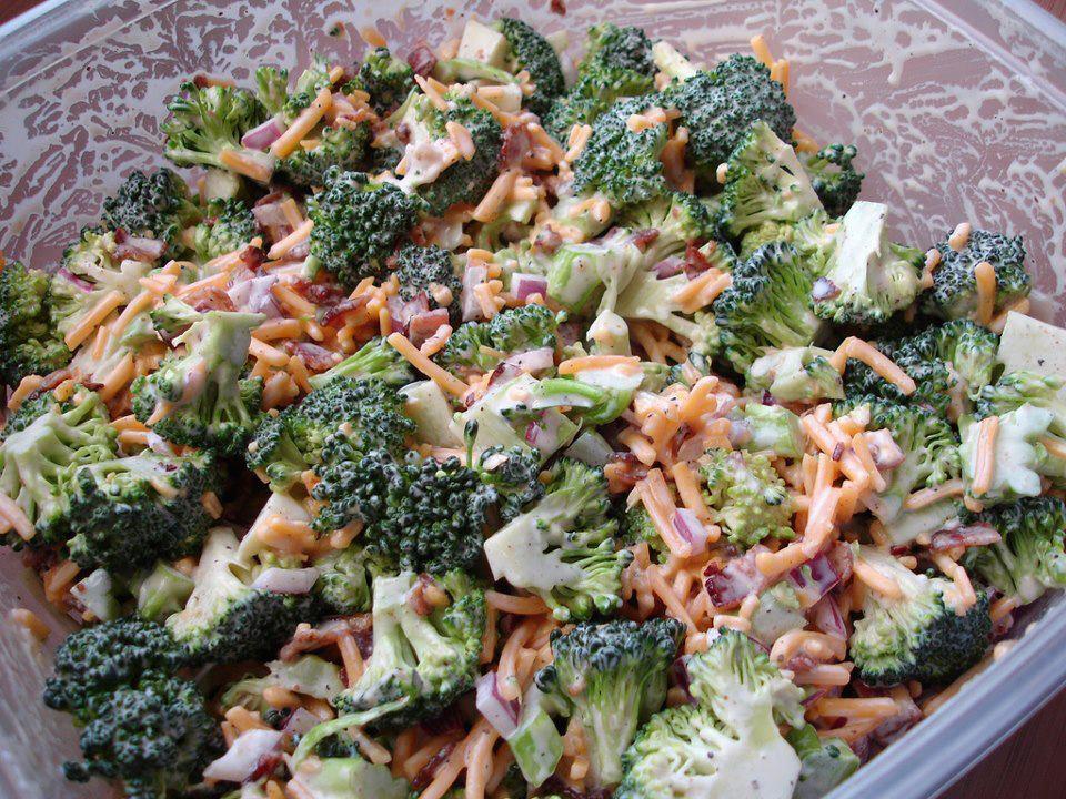 Stargal's Cosmos: Skinny Broccoli Salad